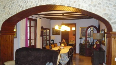 Casa del siglo XV en La Fresneda