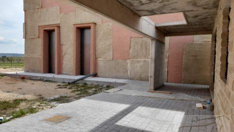 Estudio-chalet en Alcañiz.